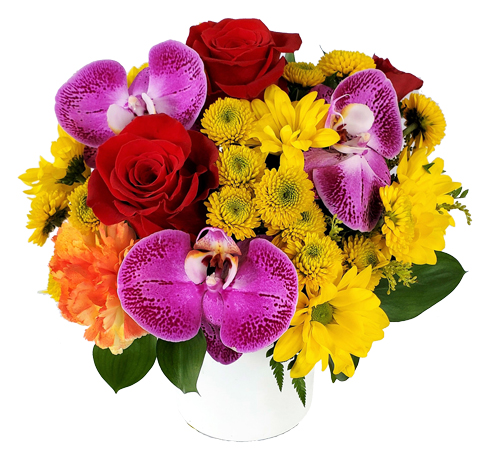 Colorful-Dream Birthday Flowers