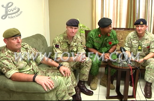 PM Meets with British Forces 2