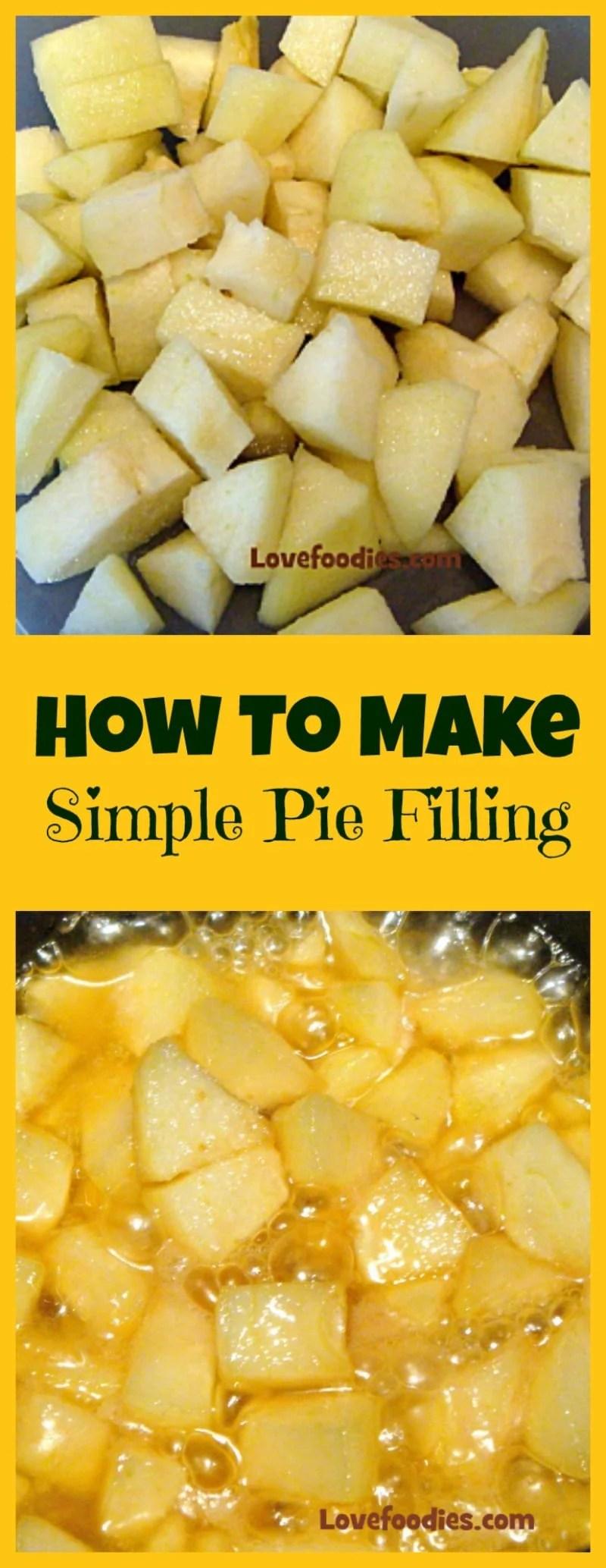 Apple Cobbler Using Pie Filling