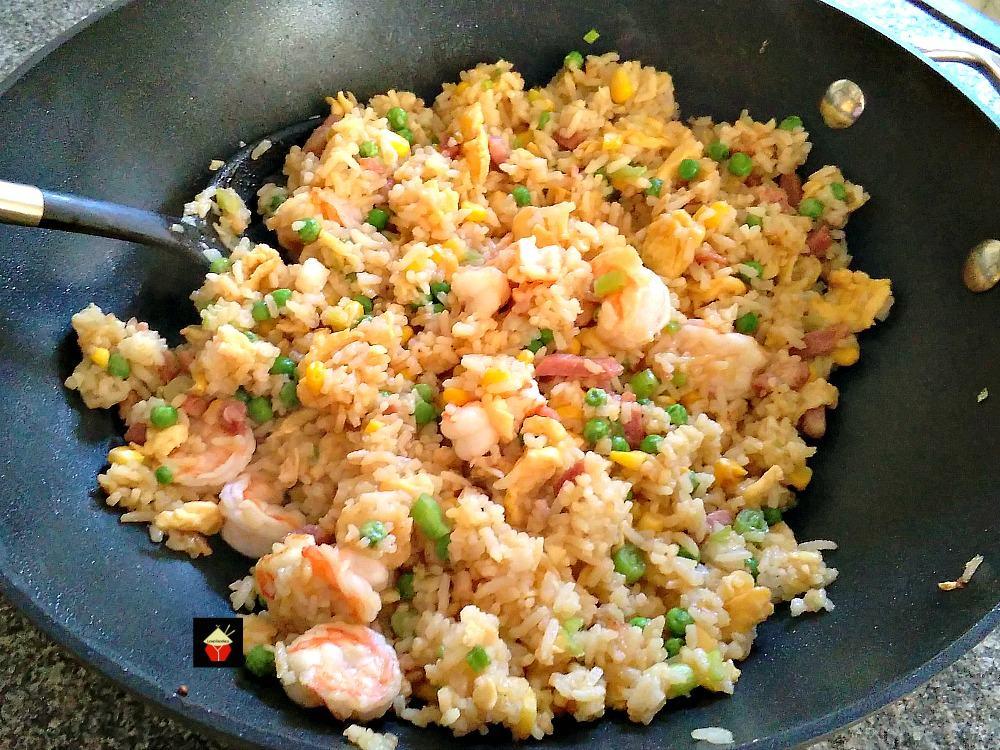 Image result for Shrimp & Garlic Fried Rice