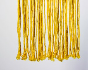 Granada Macrame Wall Hang | Yellow