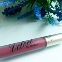 MUA Velvet Lip Laquer- Review
