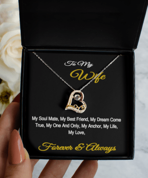 To My Wife Love Jewelry With A Gift Card Wish