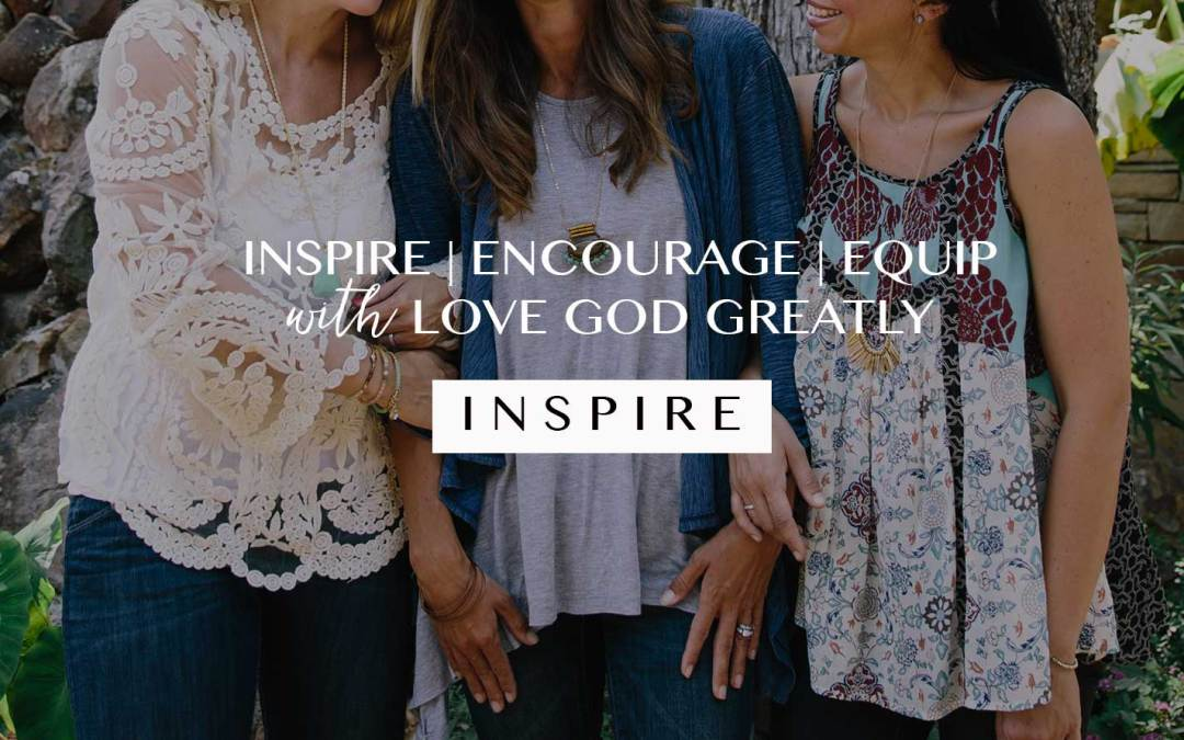 |INSPIRE| Women With Us By Facilitating a Love God Greatly Group!
