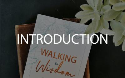 Introduction To Our Walking In Wisdom Study