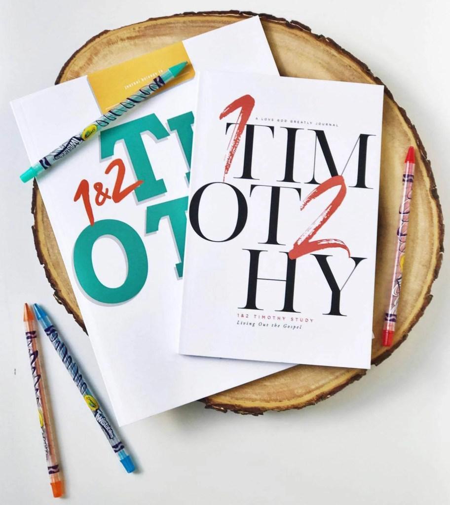 1 & 2 Timothy Bible Study Kids Journal