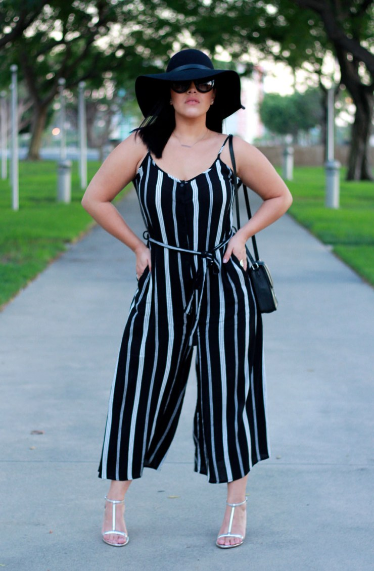 Forever 21 Pinstripe Jumpsuit