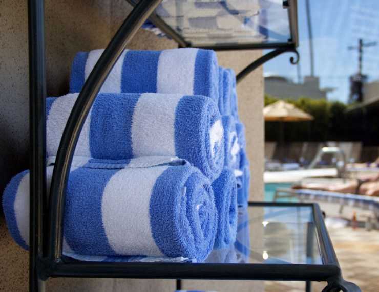 Poolside Towel Santa Monica California