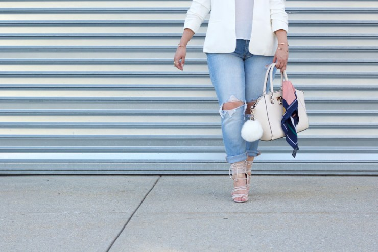 white-blazer-nude-heels