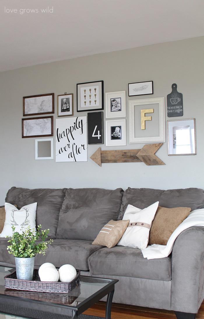 Stair Landing Decorating Inspiration - Creative Ramblings on Pinterest Wall Decor  id=16324