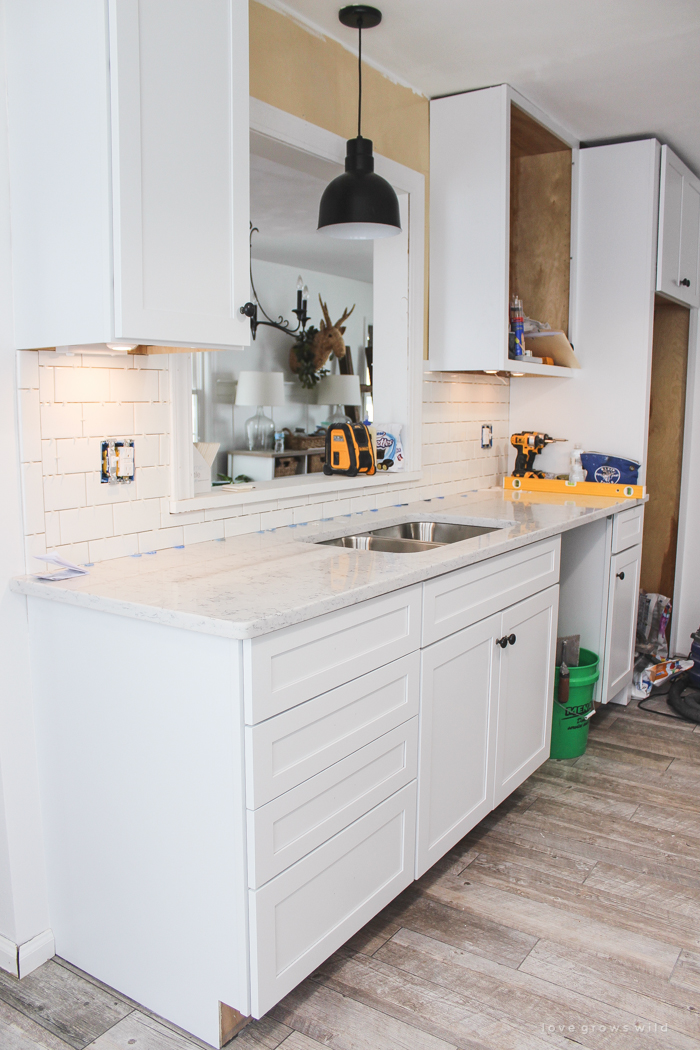Whether you're replacing those that are already in your kitchen or you're restyling the kitchen totally, you need to consider a style that will look great and function well for a long time. Kitchen Makeover Finishing Touches Love Grows Wild