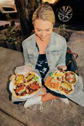 Vegan tacos in Mexico City, one of the top things to do in Mexico City