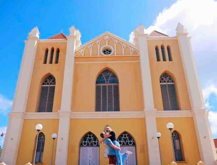 Queen of the Most Holy Rosary Cathedral, one of the top things to do in Curacao