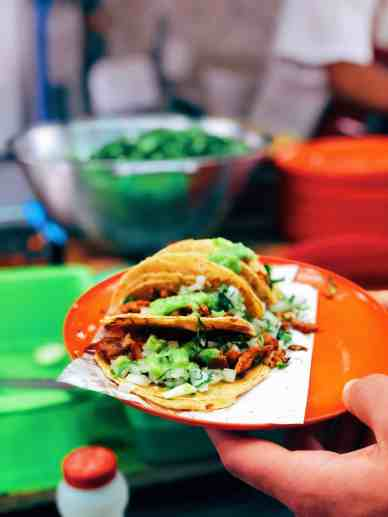 Where to eat in Mexico City, street taco stands