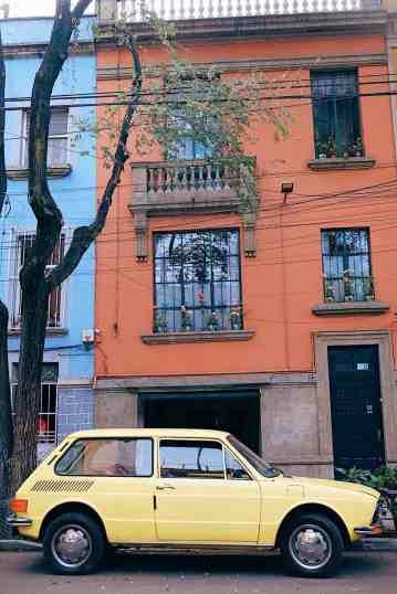 Roma Norte neighborhood in Mexico City