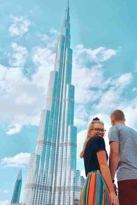 Burj Khalifa, tallest building in the world and one of the top things to do in Dubai.