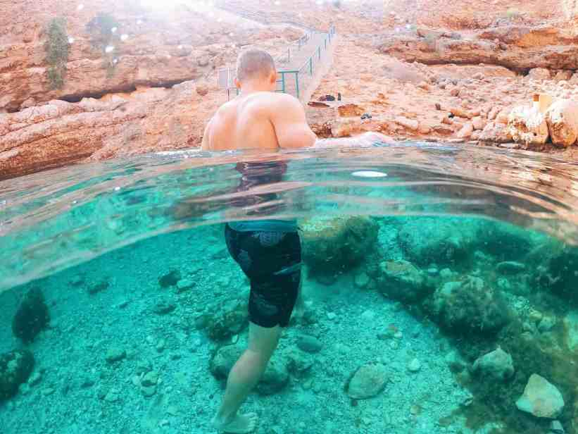 Bimmah Sinkhole, one of the top things to do in Oman.