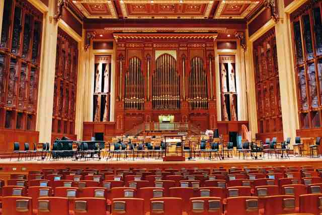 Biggest organ in the world at Royal Opera House in Muscat, one of the top things to do in Oman.