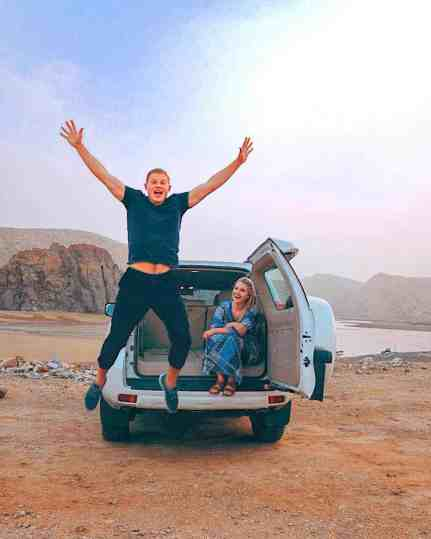 Renting a car in Oman