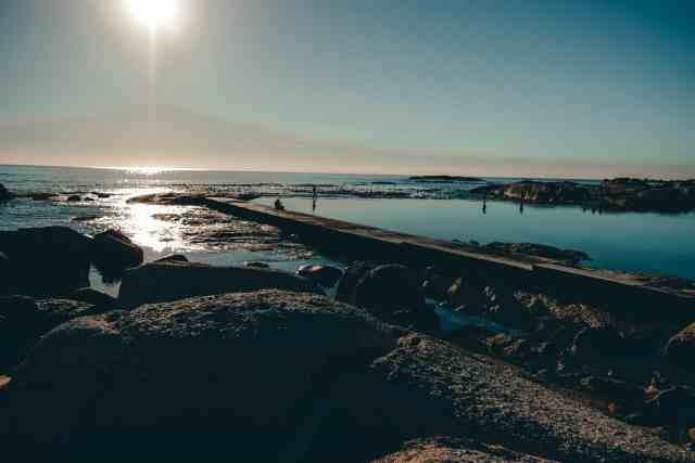 Camps Bay Tidal Pool, one of the top things to do in Cape Town