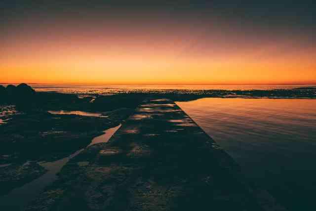 Sunset at Camps Bay Tidal Pool