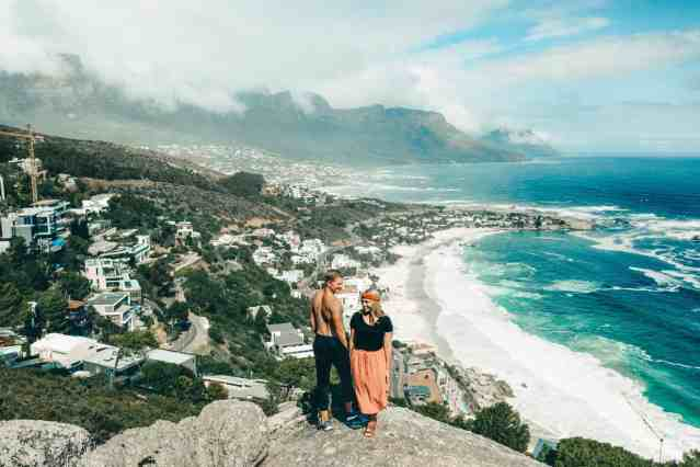 Views from The Rock, one of the top things to do in Cape Town