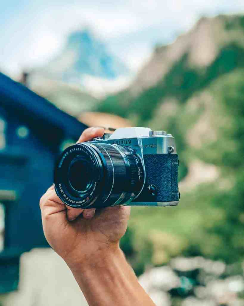 Fujifilm x-t20, best camera for travel photography