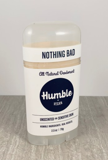 Humble All Natural Deodorant - Unscented for sensative skin