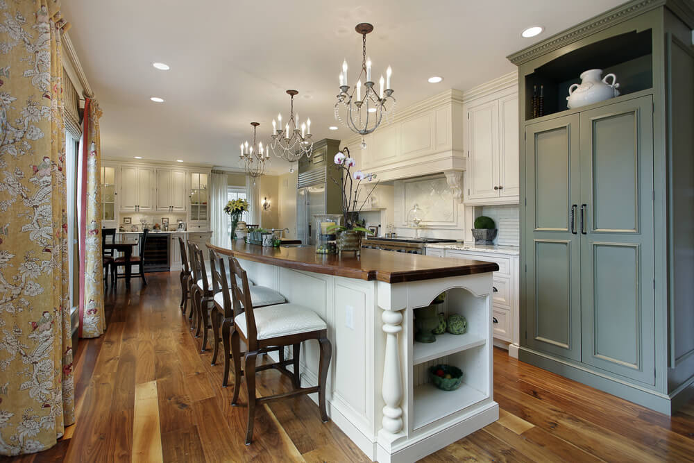 64 Amazing Kitchens with Island   Love Home Designs
