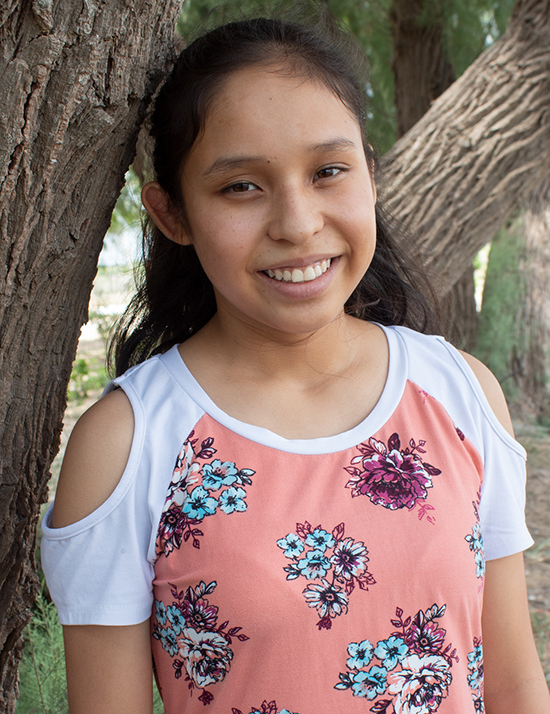 Choose to sponsor Marcela