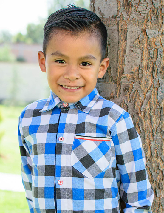 Choose to sponsor José
