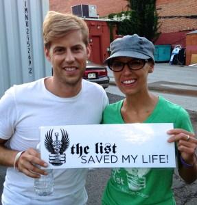 Andrew McMahon with Abby Fessler