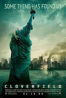 Cloverfield 2008 poster