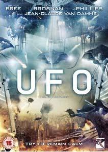 UFO U.F.O DVD cover 2012