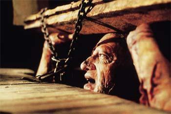 Evil Dead ii 2 classic horror cellar monster