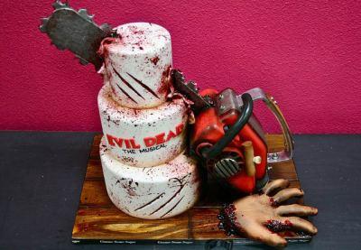 Evil Dead Musical Cake