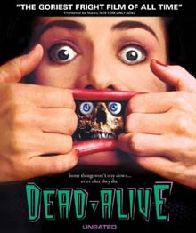 Dead alive 1992 horror cover