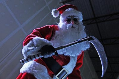 silent night 2012 santa
