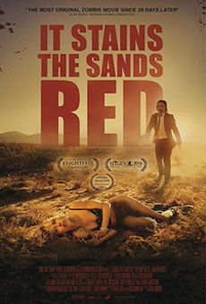 It Stains the Sand Red horror movie 2017 Poster