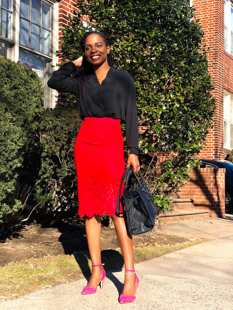 COLOR COMBINATIONS: How to Style Red and Pink Outfit   Love Igho