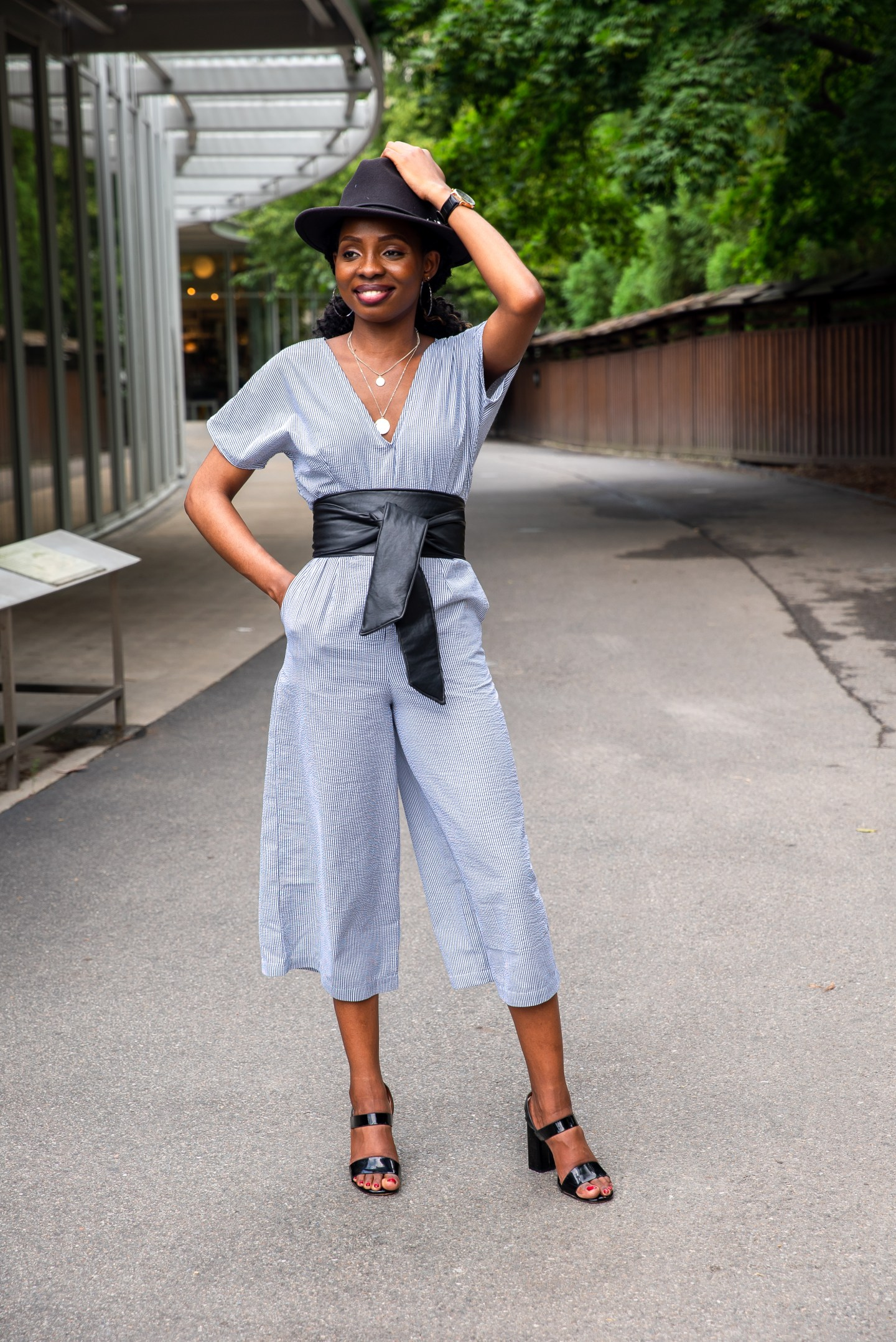 Easy DIY Linen Jumpsuit | Love Igho