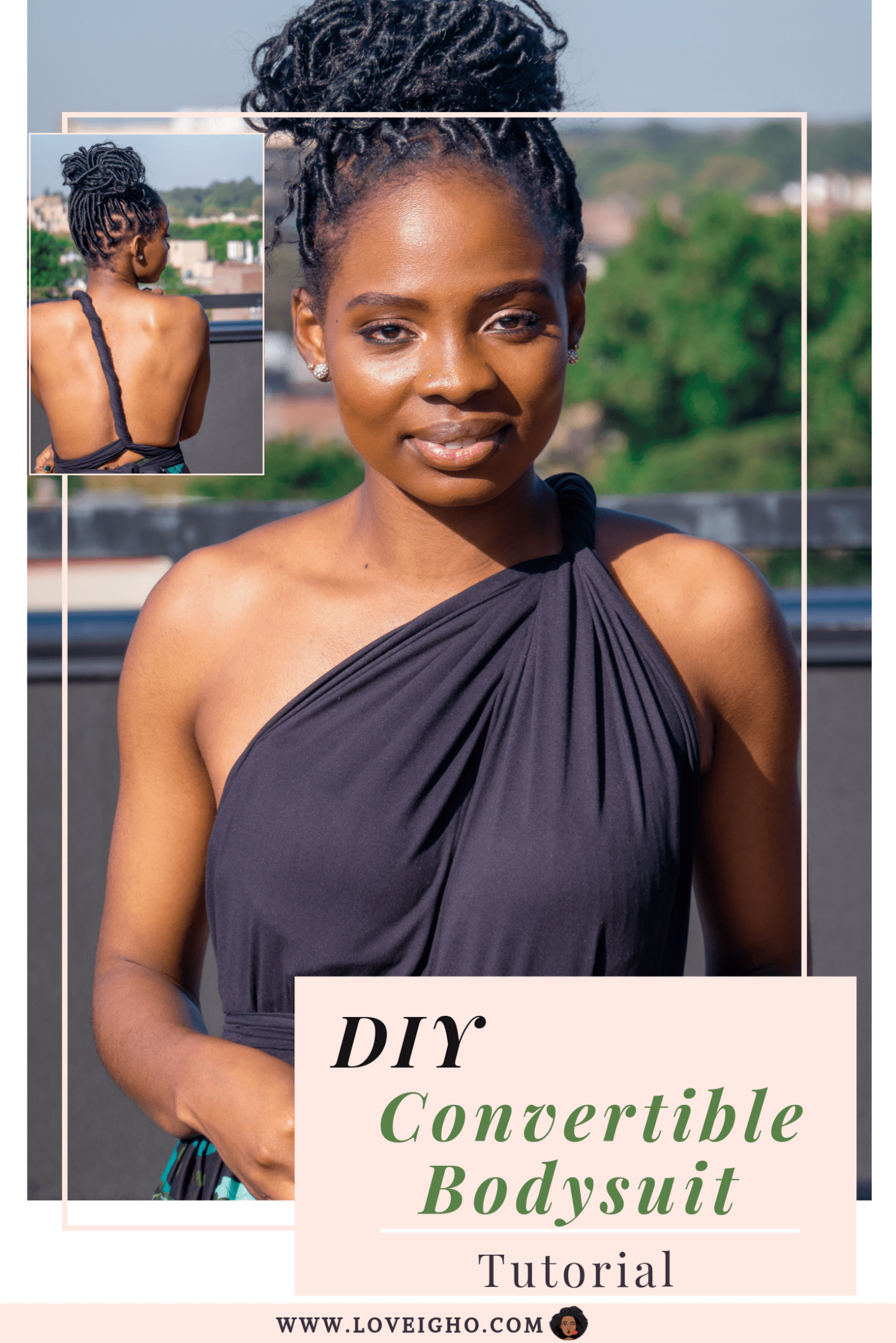DIY Convertible Bodysuit | Love Igho