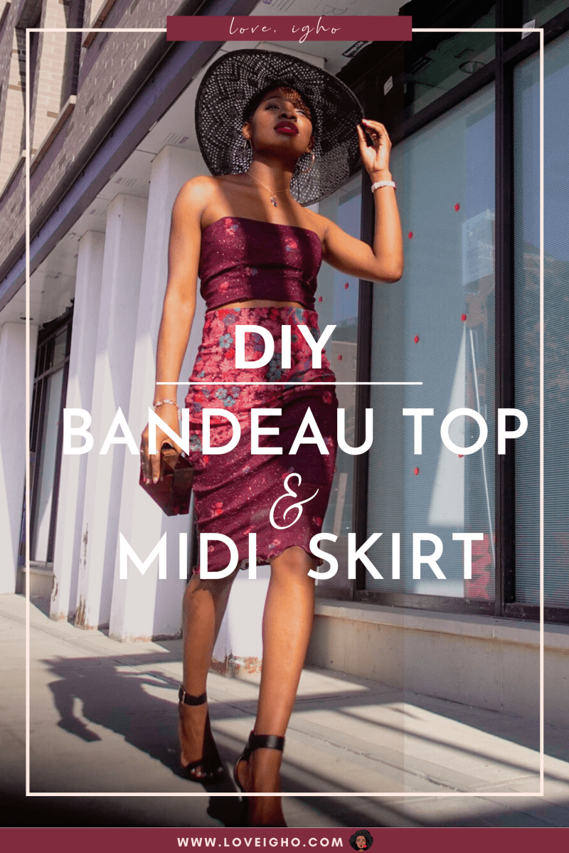 DIY Two Piece Set From Scratch