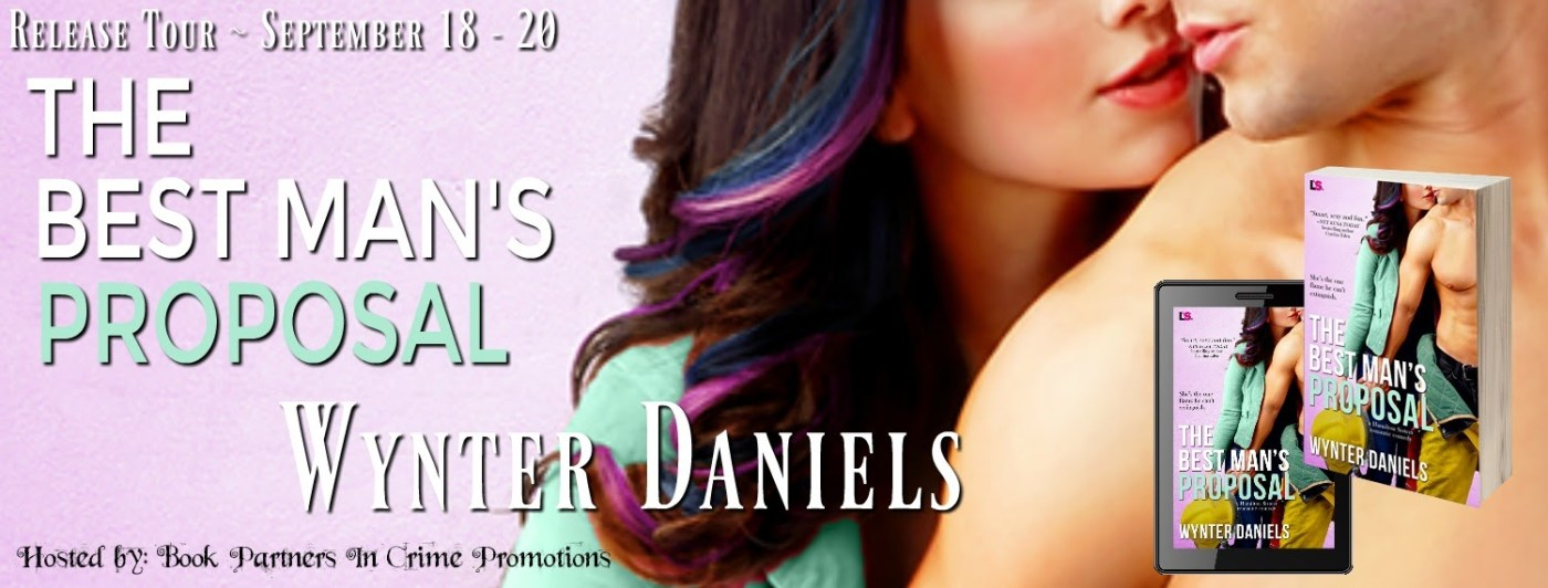 Excerpt: The Best Man&#8217\\:s Proposal by Wynter Daniels