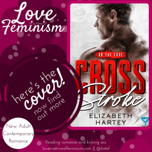 Cover Reveal: Cross Stroke by Elizabeth Hartey