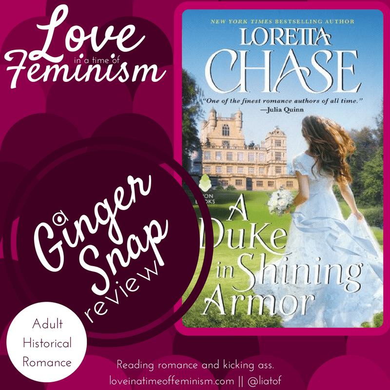 Review: A Duke in Shining Armor by Loretta Chase