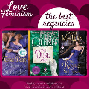 GingerSnap Recommendations: Regency Romances