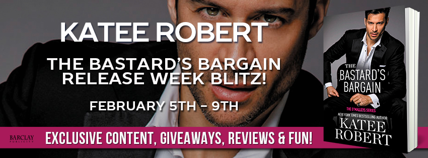 Review & Excerpt: The Bastard's Bargain by Katee Robert