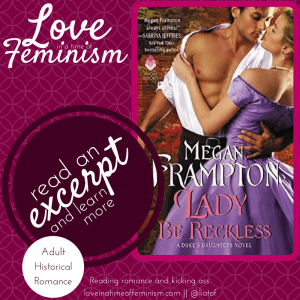 Excerpt: Lady Be Reckless by Megan Frampton