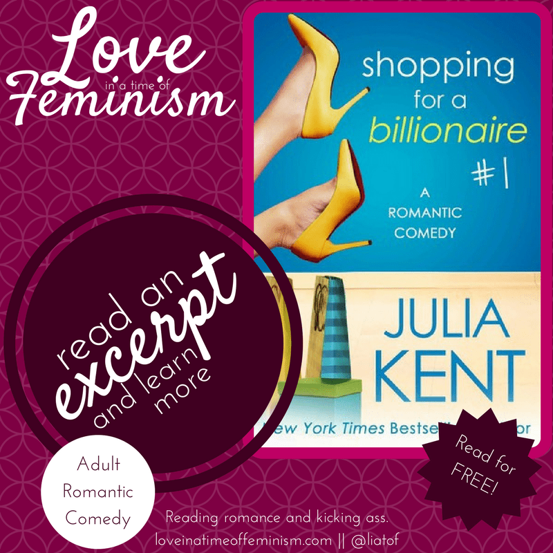 Excerpt: Shopping for a Billionaire by Julia Kent